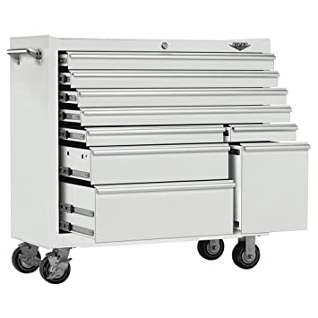 Viper Tool Storage V4109WHR 41-Inch 9-Drawer 18G Steel Rolling Tool Cabinet  sc 1 st  Amazon.com & Amazon.com: Viper Tool Storage V4109WHR 41-Inch 9-Drawer 18G Steel ...