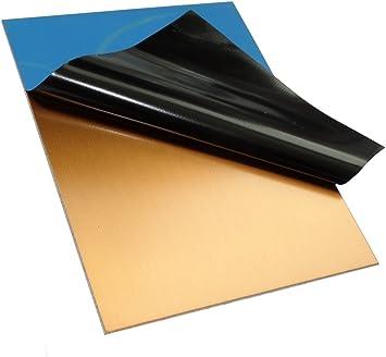 AERZETIX Placa Hojas de Cobre para Circuito Impreso 100//75//2.4mm 18/µm Resina epoxi de Fibra de Vidrio C40711