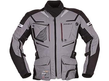 modeka textil Chaqueta Moto Chaqueta Panamericana gris de ...