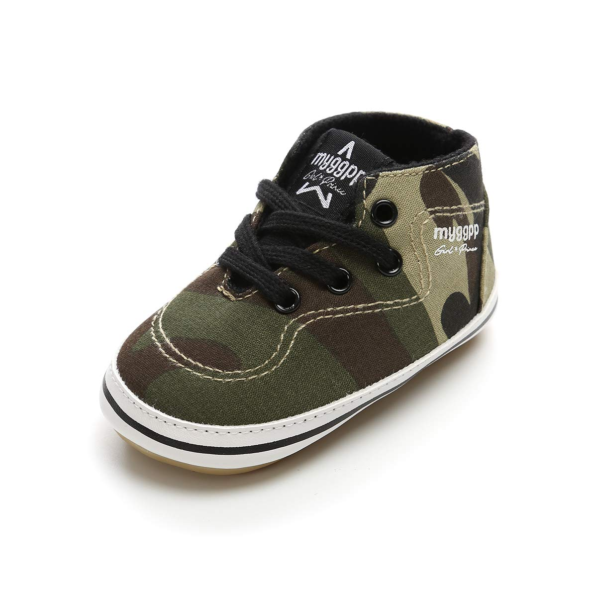 Tutoo Toddler Baby Boys Girls Shoes Infnat Summer Fashion Sneakers Prewalker First Walkers Rubber Sole (4.33 Inches(3-6 Months), D-Camo Green)