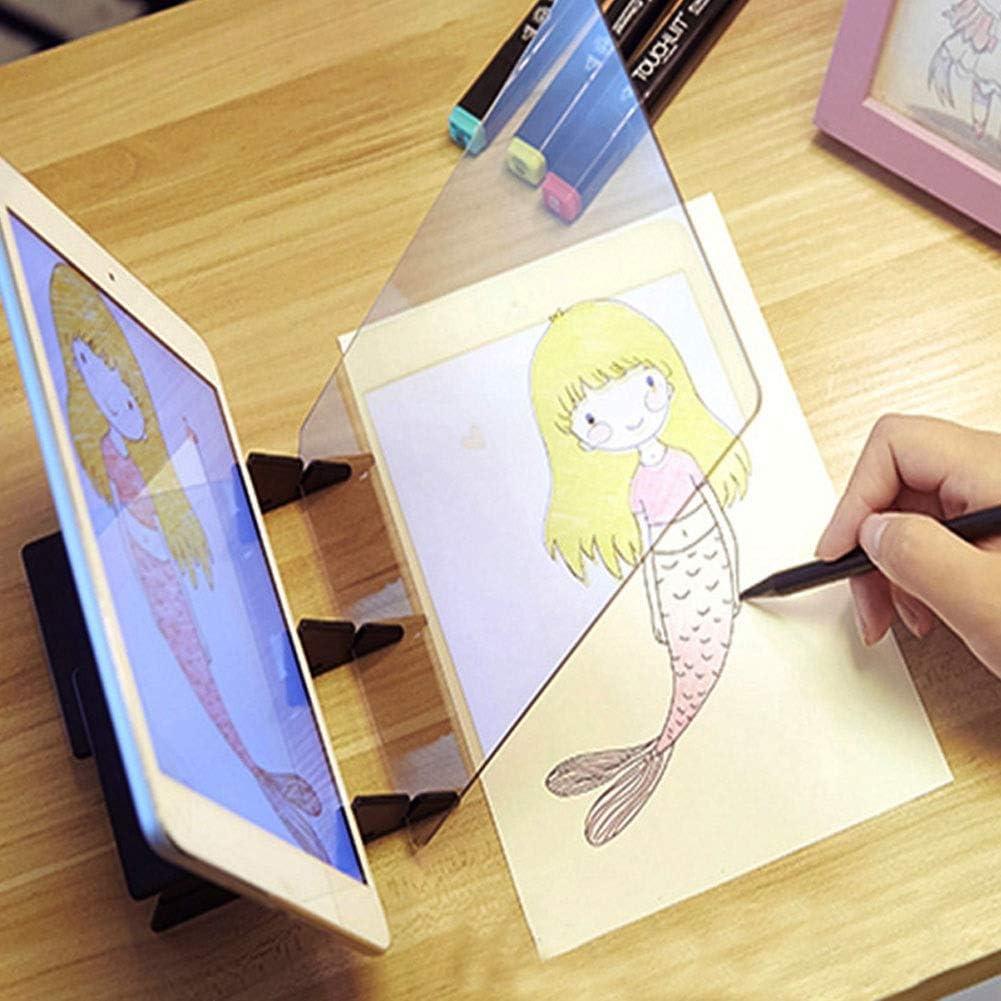 Tavolo da disegno for proiettore da disegno ottico Tavolo da disegno for pittura fai-da-te Strumenti da scrivania Tavolo da disegno