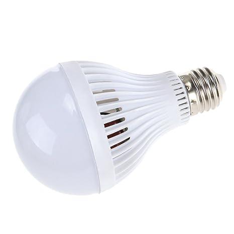 LEDMOMO 9W E27 220V Sensor LED Bombilla Lámpara de sonido Sound Sensor Auto Smart Bulb (