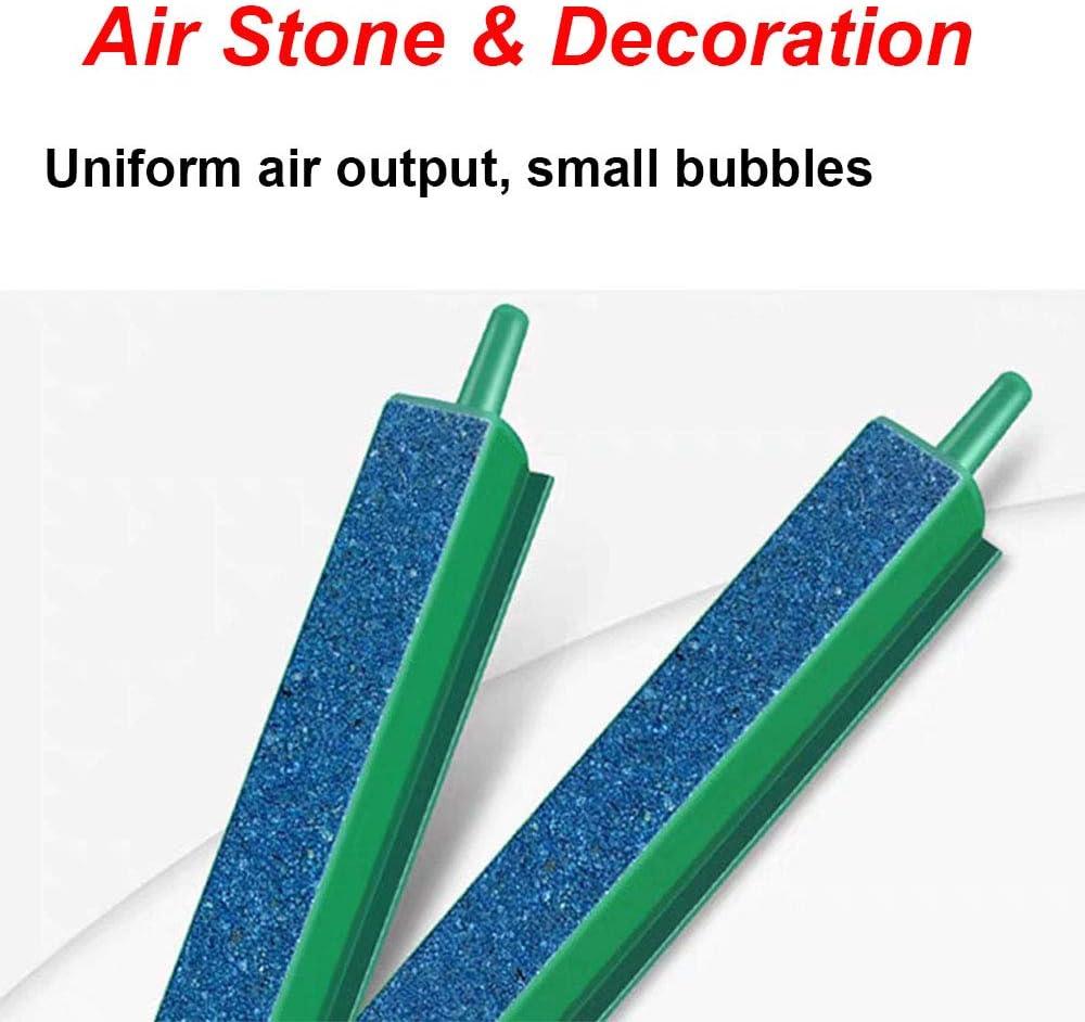 EKUEY 16/″ Fish Tank Air Stone Bar Aquarium Bubbler Diffuser with Air Pump Accessories Set 2 Pack