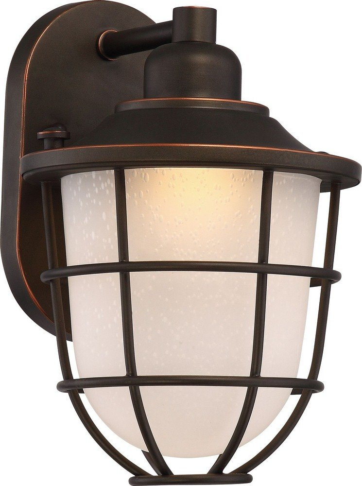 Nuvo Lighting 62/941 One Light Outdoor Wall Fixture Nuvo LED Lantern