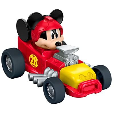 Fisher-Price Disney Mickey & the Roadster Racers, Mickey\'s Hot Rod: Toys & Games