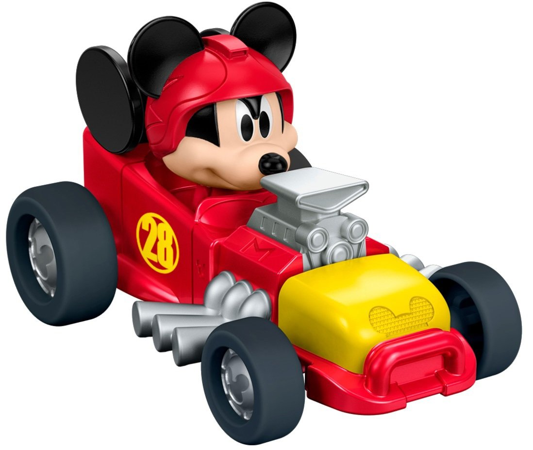 Fisher-Price Disney Mickey and the Roadster Racers - Mickey's Hot Rod Die-cast Vehicle