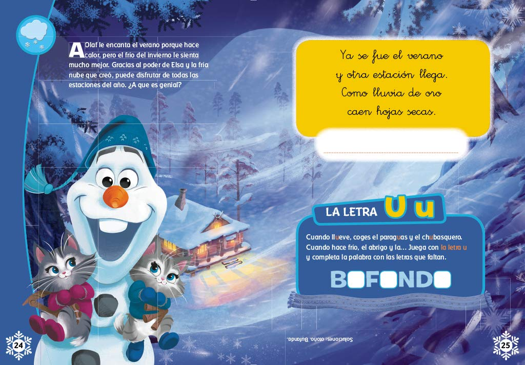 Frozen. Tus adivinanzas con Olaf: Walt Disney Productions: 9788416931187: Amazon.com: Books