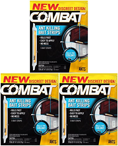 Combat Ant Killing Bait Strips, 5 Count (Pack of 3) by Combat