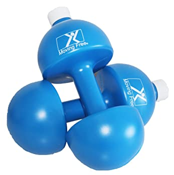 Moving Free Water Fill Plastic Dumbbells