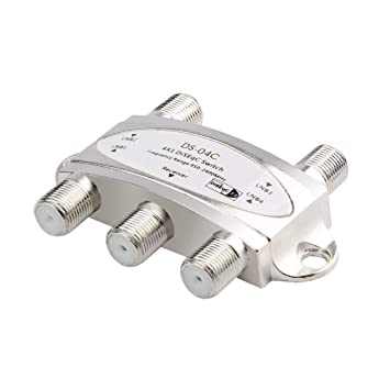 4 in 1 4 x 1 DiSEqc 4-Way Wideband Switch DS-04C High