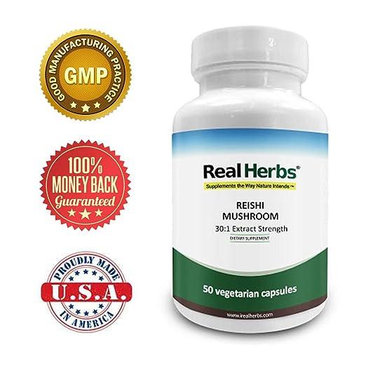 Real Herbs Reishi Mushroom Extract