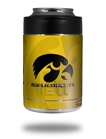 dca0d840d72 Image Unavailable. Image not available for. Color: Iowa Hawkeyes Herkey  Black on Gold ...