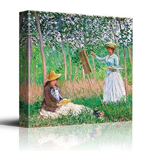 In the Woods at Giverny by Claude Monet Impressionist Art
