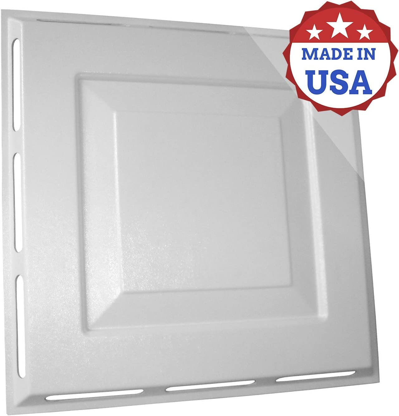 4-Way Air Vent Deflector, Easy to Install, No Tools Required, Durable, Premium, and Smooth Finish, Made in USA