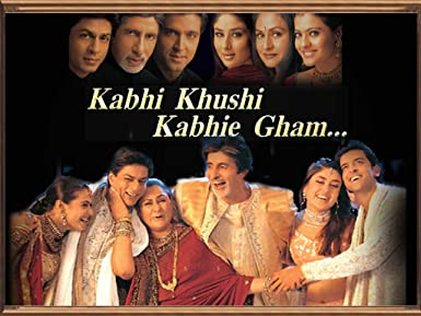 Kabhi Khushi Kabhi Gum - Dvd Hindi Movie Bollywood Movie - 2001