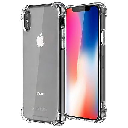 synmixx Custodia iPhone XS Cover iPhone X Silicone Cover per