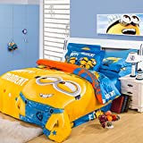 CASA Children Bedding Series Minions pattern Bedding Sets & Collections Duvet Cover Sets