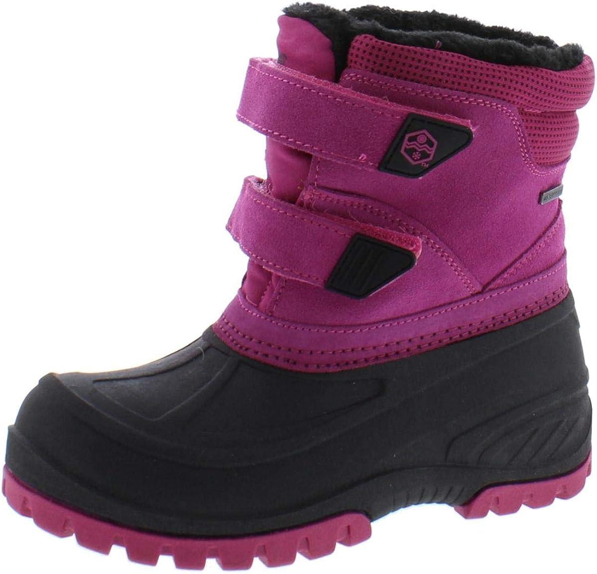 Khombu Girls Spirit Leather Snow Boots