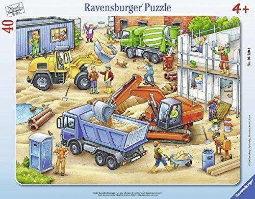 Ravensburger Large Construction Vehicles Jigsaw Puzzle (40 Piece)