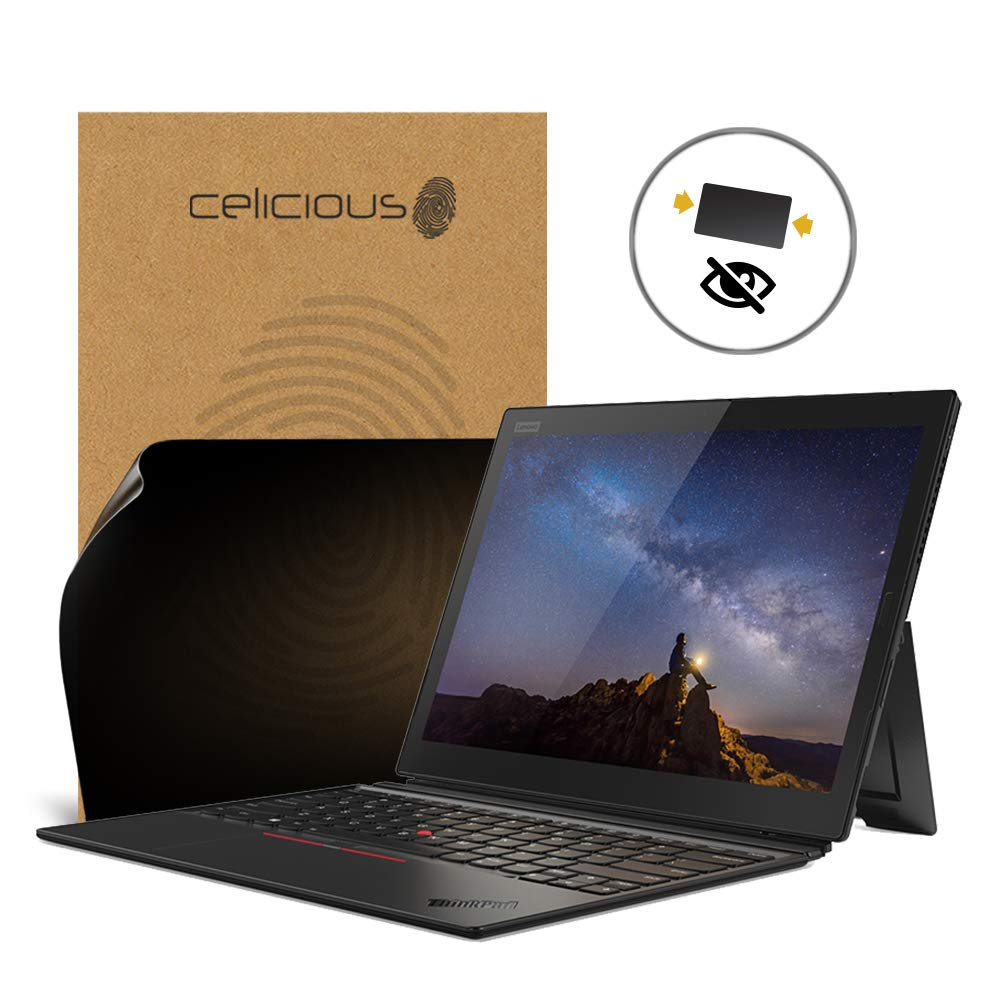Celicious Privacy 2-Way Anti-Spy Filter Screen Protector Film Compatible with Lenovo ThinkPad X1 Tablet 3rd Gen (with IR)