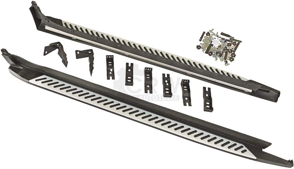 Set Trittbretter Schweller Für X4 F26 Bj 14 Inkl Anbaumaterial Aluminium Auto