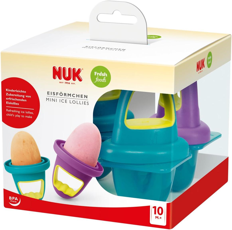 NUK 10255181 Fresh Foods - Moldes para congelar alimentos de bebé ...