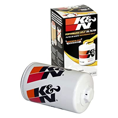 K&N Premium Oil Filter: Designed to Protect your Engine: Fits Select MAZDA/FORD/LINCOLN/DODGE Vehicle Models (See Product Description for Full List of Compatible Vehicles), HP-2009: Automotive
