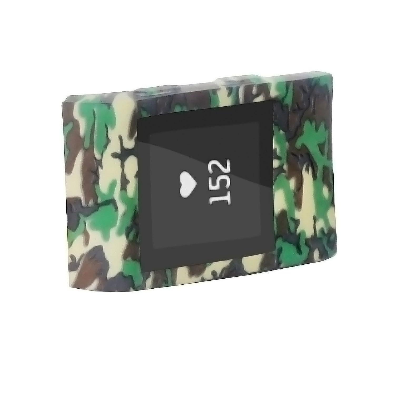 For Fitbit Surge腕時計スリムソフトスリーブプロテクターカバー多くのデザインバンドCovers For Fitbit Surge 。多くのデザイン耐衝撃スリーブケースカバーソフトプロテクターホット  迷彩 B073V38C4C
