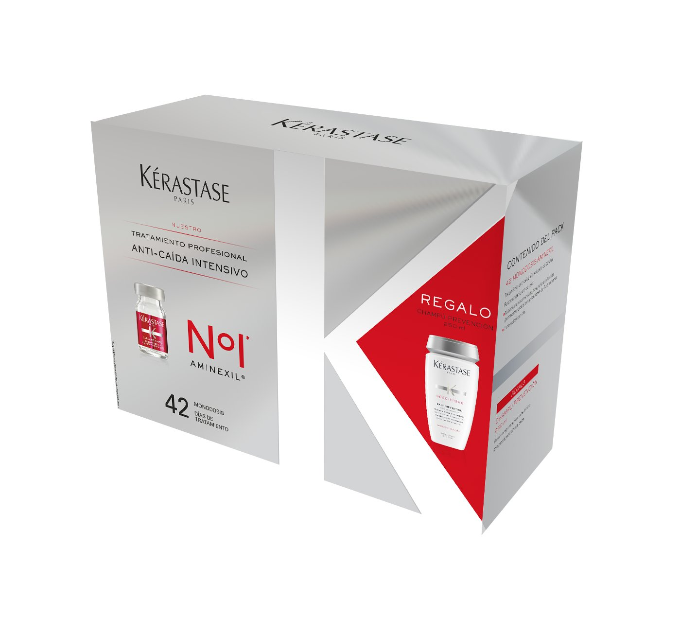 Pack tratamiento anti-caída aminexil tratamiento profesional de kerast. Kerastase 905-15012
