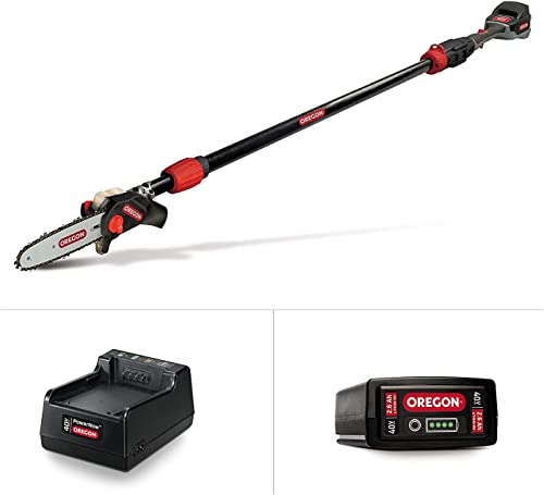 Oregon Cordless PS250 8-Inch 40V Telescoping Pole Saw