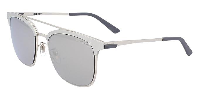 Amazon.com: Gafas de sol de diseño de policía, 1 SPL569V ...