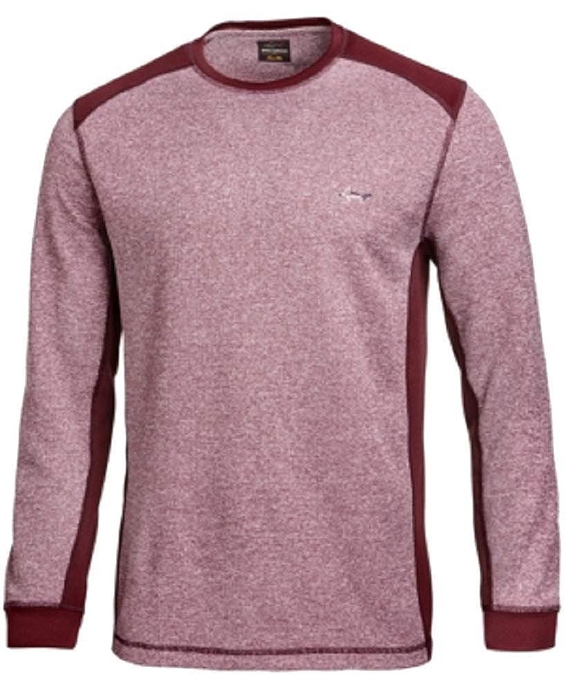 Greg Norman Tasso Elba Colorblocked Thermal Shirt L)