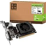 玄人志向 NVIDIA GeForce GT710 搭載 グラフィックボード 1GB Low profile対応 1スロット空冷ファンモデル GF-GT710-E1GB/LP/P