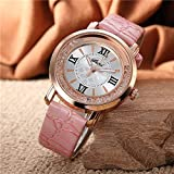 Rurah Simple and Casual Quartz Watches Analog Wrist Watch For Women and Ladies