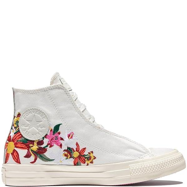 e5a5fdf3f069 Converse by PatBo Women s Chuck Taylor Lux Wedge Shoe White (5 B(M))