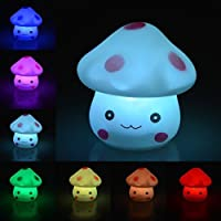 RuiChy LED Night Lamp Romantic Plastic Cute Lamp For Room Christmas Party Decor Decoration