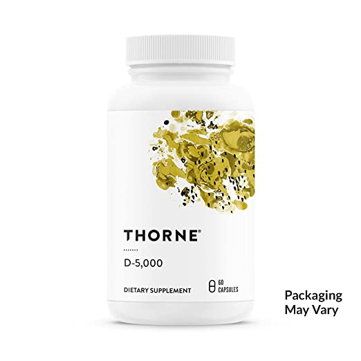 Product thumbnail for Thorne Research D-5,000 Vitamin-Best for Active Women