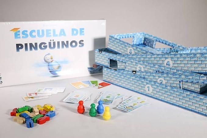 SD Games - Escuela de pingüinos, Juego de Mesa (SDGESCPIN01): Amazon.es: Juguetes y juegos