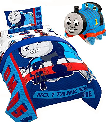 s The Train TANK Engine HOT ROD 5pc TWIN SIZE COMFORTER(64