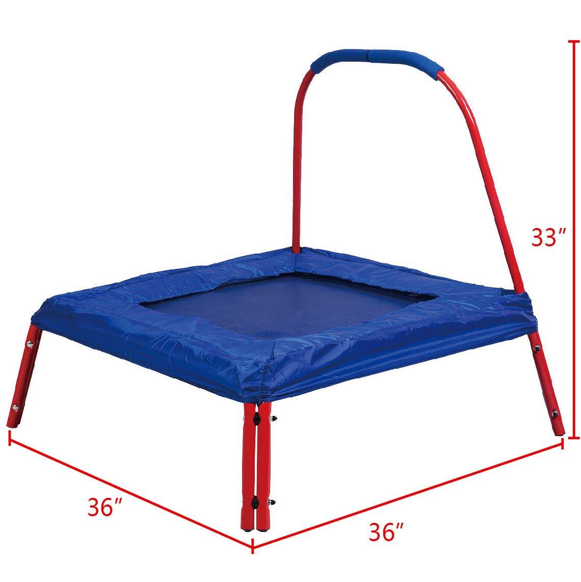 Fitness Kindertrampolin Trampolin Minitrampolin Minitramp für ...