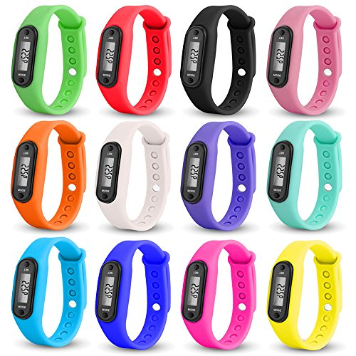 Digital LCD Watches,Hosamtel Pedometer Run Step Counter Walking Distance Calorie Calculation Sports Bracelet Wrist Watch With Silicone Band - Watch Lcd Bracelet