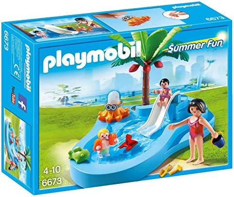 WOMAN COCONUT PALM TREE SLIDE Playmobil BABY//TODDLER SHALLOW POOL
