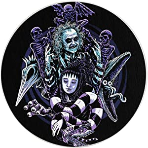 Beetlejuice Classic Movie Funny Coasters, Multi-Purpose Diatomite Coasters, Protect Furniture from Water Marks Scratch and Damage(1pcs-6pcs)