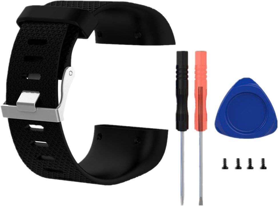 Replacement Pulsera para Fitbit Surge, Meiruo Correas para Fitbit Surge Smartwatch