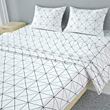 MUBYTREE Queen Sheets Bed Sheets Queen of Microfiber with Deep Pocket Extra Soft Wrinkle Free Fading Resistant Hypoallergenic