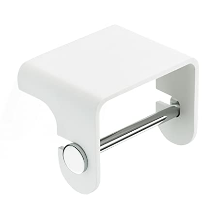 Decor Walther Bathroom Accessories.Decor Walther Stone Toilet Roll Holder With Shelf Glossy White