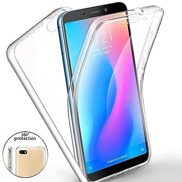 Funda para Xiaomi Redmi 6A Silicona,Carcasas[Carcasa Protectora ...