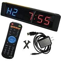Programmeerbare LED Interval Timer Klok Stopwatch Sport voor fitness Crossfit Gym