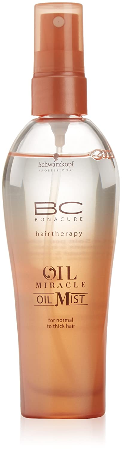 Schwarzkopf BC Oil Miracle Oil Mist Spray pour Cheveux Epais 100 ml 1914270 1914270_-100ml