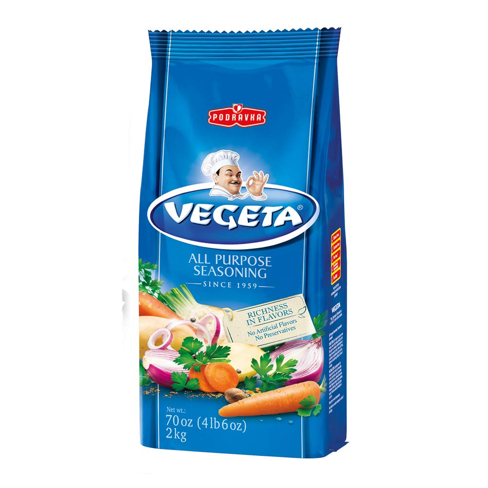Amazon.com : Vegeta All Purpose Seasoning and Soup Mix, 70 ...